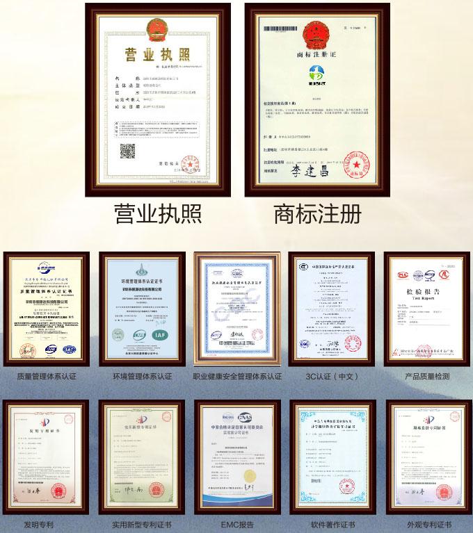 贝博达资质荣誉证书1