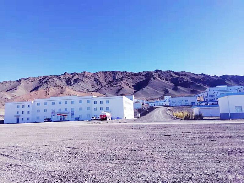 新疆阿勒泰某铜矿厂煤改电采暖项目