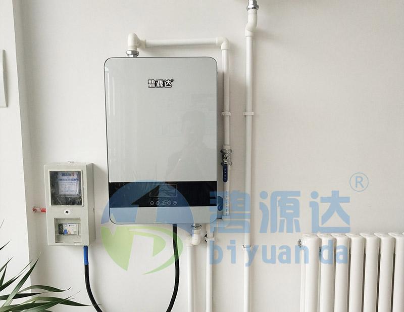 陕西蒲城某住户贝博体育官方app下载壁挂炉采暖