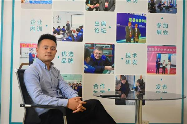 近日, 我司副总经理李友琦先生接受慧聪供热采暖网专访